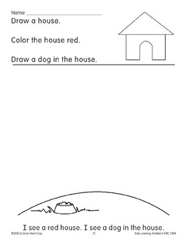 Read/Draw/Color: Doghouse