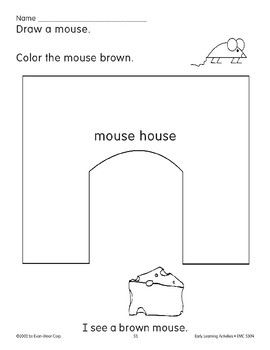 Read/Draw/Color: Mouse