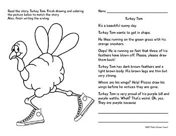 Read, Draw, Color, Write, Fun For November & December