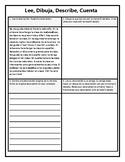 Read, Draw, Describe, Share - Realidades 1 Chapter 2A Scho