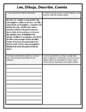 Read, Draw, Describe, Share - Realidades 1 Chapter 2B Classroom objects