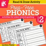 Read & Draw | Prep-Free Phonics | Distance Learning