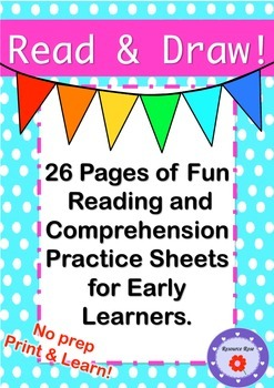 Read & Draw - Reading and Comprehension for Early Readers