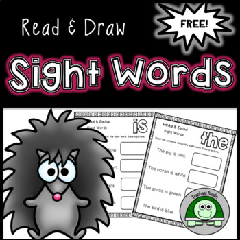 Read & Draw: Sight Words