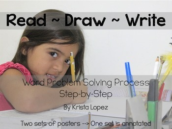 Read, Draw, Write   How to Solve Word Problems (With Annot