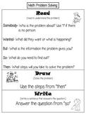 Read Draw Write Problem Solving