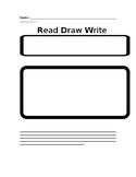 Read Draw Write Problem Solving Process