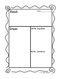 Read Draw Write Template