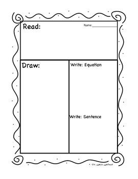 Read Draw Write Template