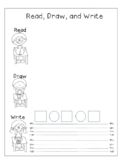 Read, Draw, Write Template for Problem Solving