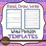 Read, Draw, Write Templates