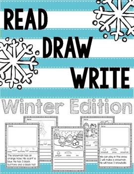 Read Draw Write: Winter Edition