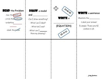 Read Draw Write Write Foldable