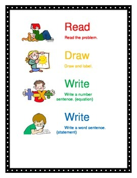 Read Draw Write Write Poster