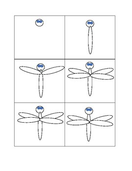 Read & Draw an Insect - Dragonfly