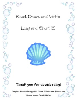 Read, Draw, and Write Long/Short E