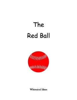 Read & Draw storybook for young readers (The Red Ball)