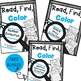Read, Find, Color The BUNDLE