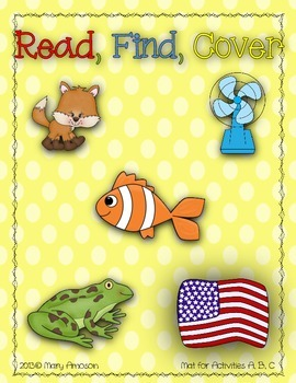 Read, Find, Cover {Letter F}