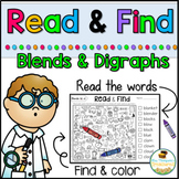 Read & Find Hidden Picture Puzzles Blends and Digraphs