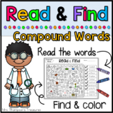 Compound Words Read & Find Hidden Picture Puzzles