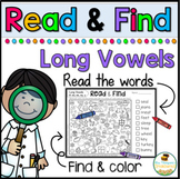 Read & Find Hidden Picture Puzzles: Long Vowels