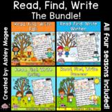 Read, Find, Write: Seasonal Growing Bundle