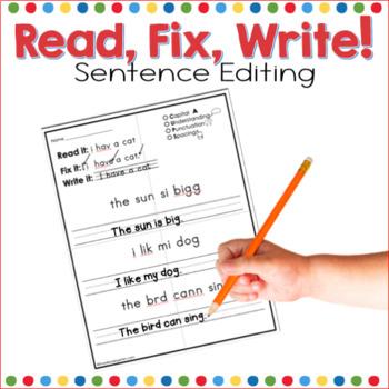 Read, Fix, Write!