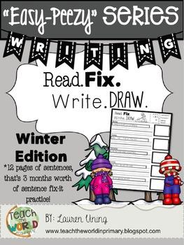 Read, Fix, Write, Draw