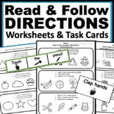 Read & Follow Directions: ABLLS-R Tasks Q15 & Q16