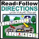 Read & Follow Directions - Prepositions!