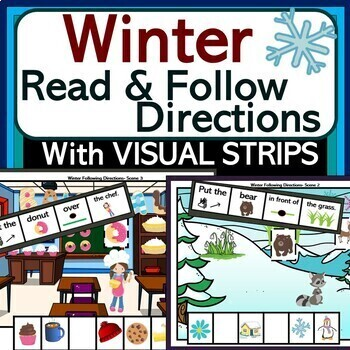 Read & Follow Directions: Winter Theme!