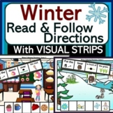Read & Follow Directions: Winter Theme with Visual Direction Strips!