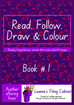 Read, Follow, Draw & Colour Book 1