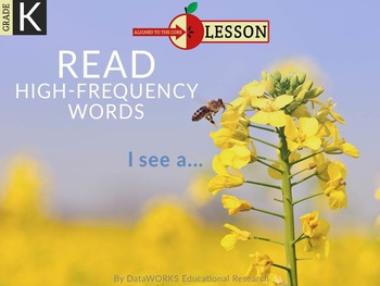 Read High-frequency Words