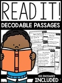 Read It Comprehension | GOOGLE™ READY WITH GOOGLE SLIDES™ | Distance Learning