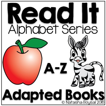 Read It Alphabet Series (Adapted Books A-Z)