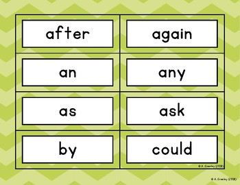 Read It! Build It! Print It! - First Grade Dolch Sight Words