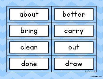 Read It! Build It! Print It! - Third Grade Dolch Sight Words
