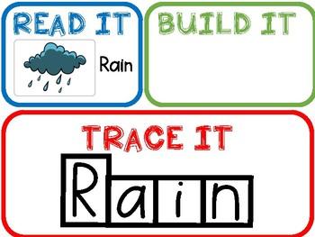 Read It Build It Trace It-Weather!