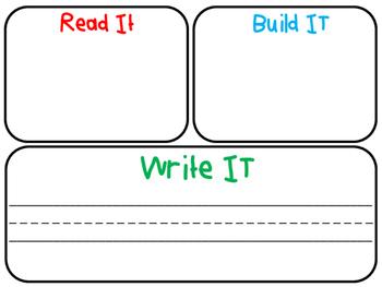 Read It, Build It, Write It