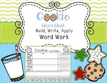 Read It, Build It, Write It, Apply It Word Work (Pre-Prime