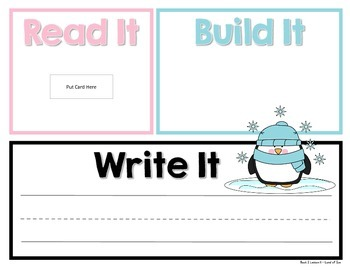 Read It, Build It, Write It Harcourt StoryTown Spelling Words for Book 2