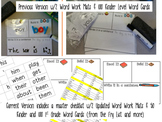 Read It, Build It, Write It Kinder & 1st Grade Word Work Mat