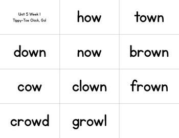 Read It, Build It, Write It Reading Street Common Core Spelling Words for Unit 5