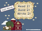 Read It, Build It, Write It Sight Words (1)
