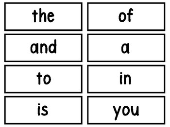 Read It, Build It, Write It With 200 Fry Word Cards