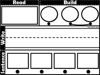Read It, Build It, Write It Word Families (Phonics)