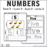 Number Writing Practice 1 20