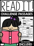 Read It Challenge Comprehension | GOOGLE™ READY WITH GOOGLE SLIDES™ |
